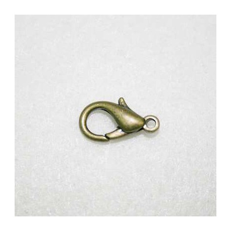 Mosquetón bronce 20mm