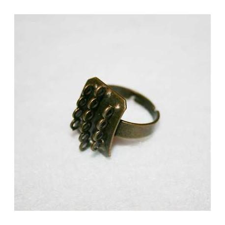 Anillo con anillas bronce
