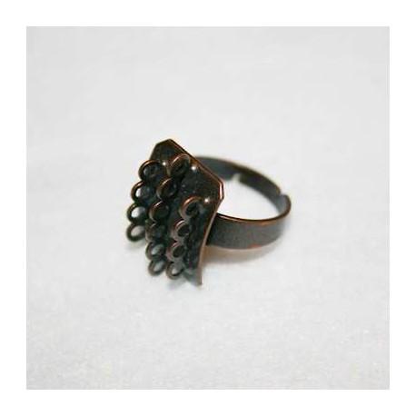 Anillo con anillas cobre