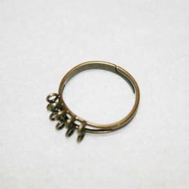 Anillo anillas bronce chico