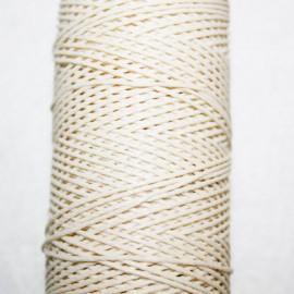 Hilo algodón encerado beige x 5 metros