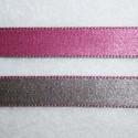 Cinta doble cara rosa y gris 10mm