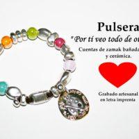 Pulsera: Por tí veo todo de otro color...