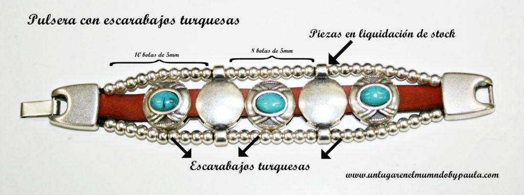 Pulsera_Escarabajo turquesa_5897_foto