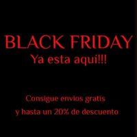 Black Friday extensivo hasta el día 30 de noviembre!