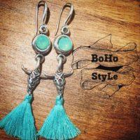 Pendientes Boho Style.