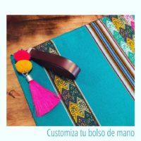 Customiza tu bolso... Utiliza las tiras anchas de cuero sintético de 20mm como asa para tus bolsos...