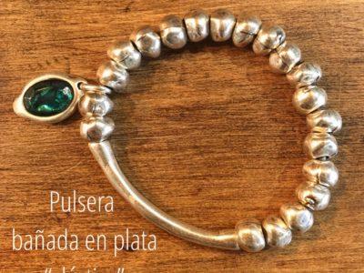 Pulsera_elástica_resina_Verde_foto
