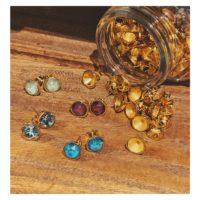 Pendientes con cristales de Swarovski